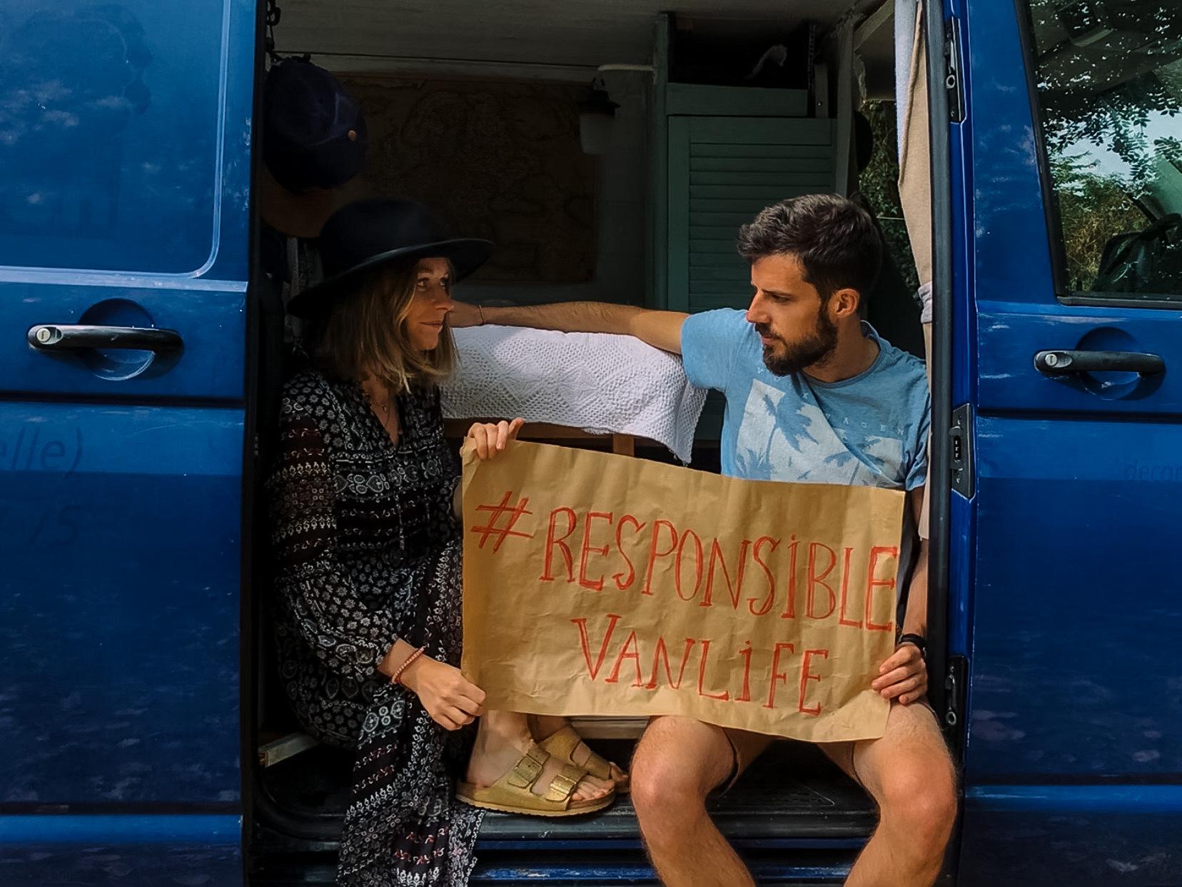 voyageurs de demain Anais et Olivier passer la seconde vanlife responsable